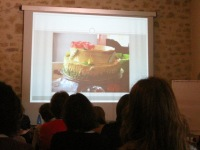 A slide from the wonderful presentation on the anthropological signification of cakes by K. Król (University of Warsaw)