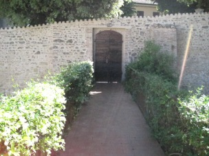 The entrance of the CEUB (Centro Residenziale Universitario di Bertinoro) which belongs to the University of Bologna