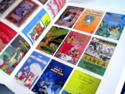 A selection of colour covers